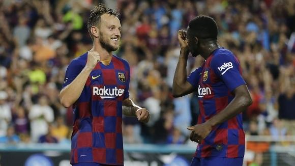 Бързоногото крило на Барселона Усман Дембеле е най-желаният футболист от