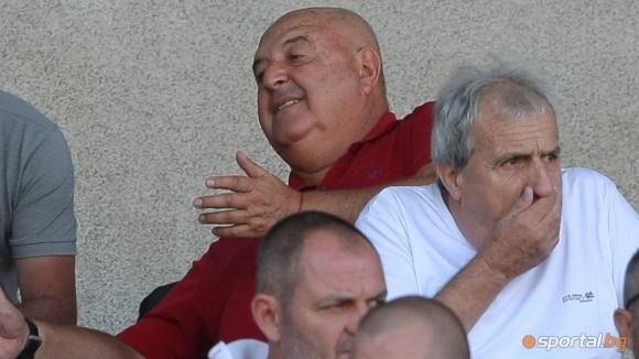 Президентът на Славия Венцеслав Стефанов беше разочарован след равенството 2:2,