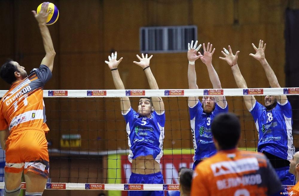 Един от най-сърцатите волейболисти играли с екипа на Марек Юнион