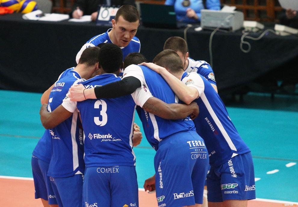 Мъжкият волейболен отбор на Пирин (Разлог) започва своята подготовка за