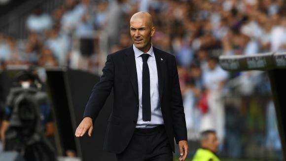 Старши треньорът на Реал Мадрид Зинедин Зидан промени нагласата си