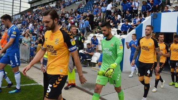 Българският вратар Димитър Митов и неговият Кеймбридж Юнайтед започнаха повече
