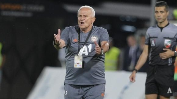 Наставникът на ЦСКА-София Люпко Петрович бе много доволен от успеха