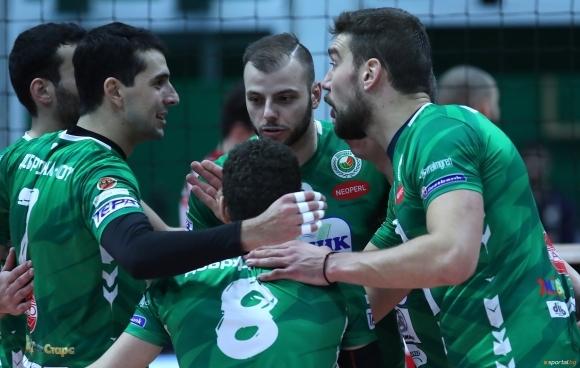 Mъжкият волейболен отбор на Добруджа 07 (Добрич) започва своята подготовка