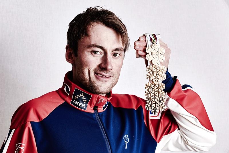 Любопитно превъплъщение претърпя легендарният бивш норвежки ски бегач Петер Нортхуг.