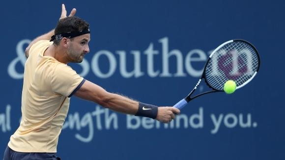 Най-добрият ни тенисист Григор Димитров отстъпи нови четири позиции в