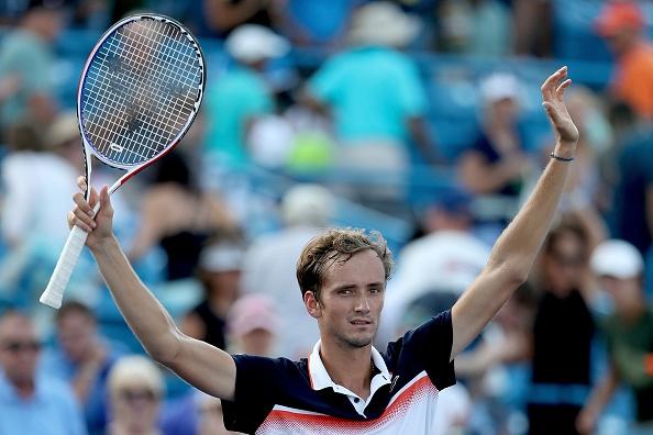 Даниил Медведев е един от най-впечатляващите с изявите си тенисисти
