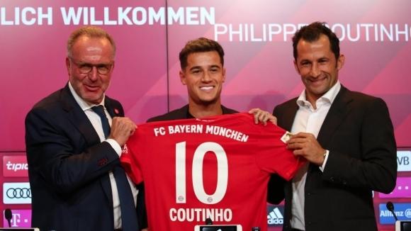 Филипе Коутиньо ще играе с №10 в редиците на Байерн