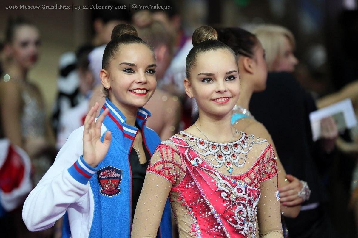 Участничките на Световното първенство по художествена гимнастика в Баку (Азербайджан)