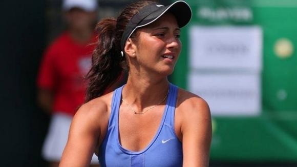 Александрина Найденова се класира за втория кръг на турнира по