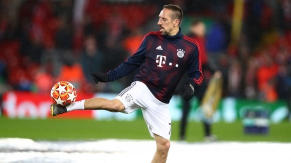 Доскорошният дългогодишен играч на Байерн (Мюнхен) Франк Рибери е приел