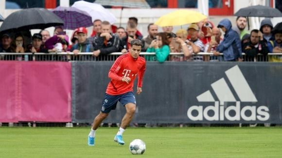 Филипе Коутиньо направи първата си тренировка с отбора на Байерн