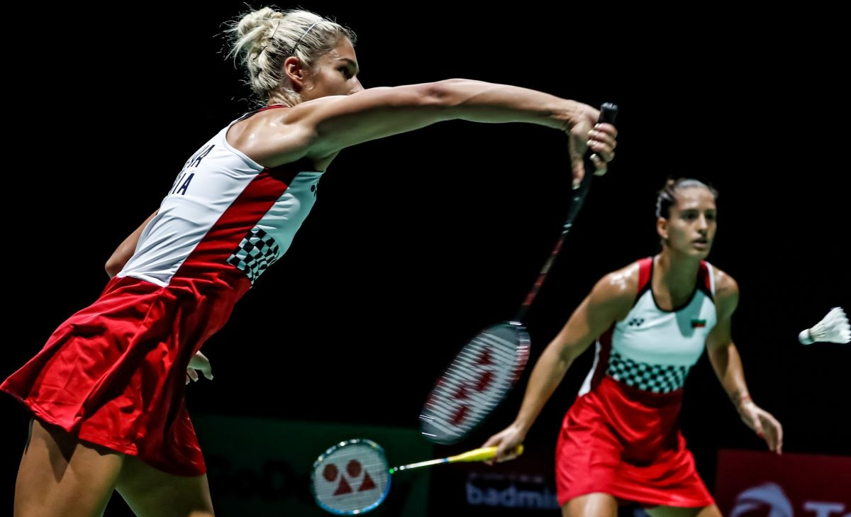 Европейските шампионки Габриела и Стефани Стоеви не успяха да се