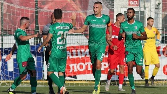 Легендарният нападател Мартин Камбуров заби гол в мрежата на Царско