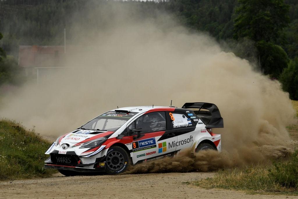Лидерът в генералното класиране на Световния рали шампионат (WRC) От
