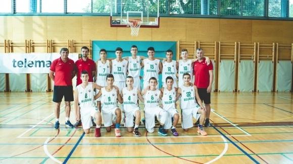 Втора загуба за ден записаха баскетболистите на България от Украйна.