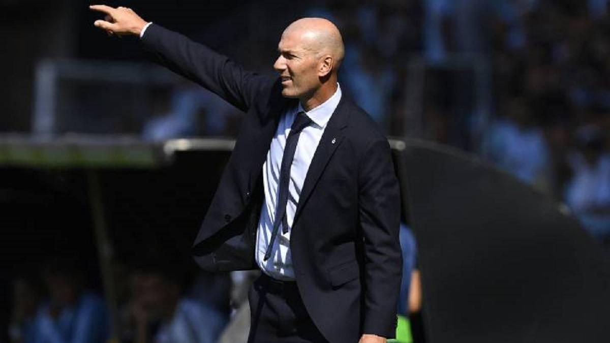 Треньорът на Реал (Мадрид) Зинедин Зидан изрази разочарованието си от