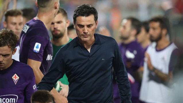 Треньорът на Фиорентина Винченцо Монтела изрази недоволството си от работата
