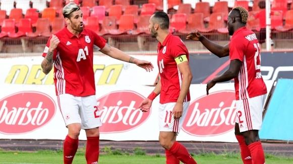 Отборът на ЦСКА-София излиза за изразителна победа срещу Дунав в