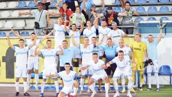 Отборът на Созопол спечели важна победа в Югоизточната Трета лига