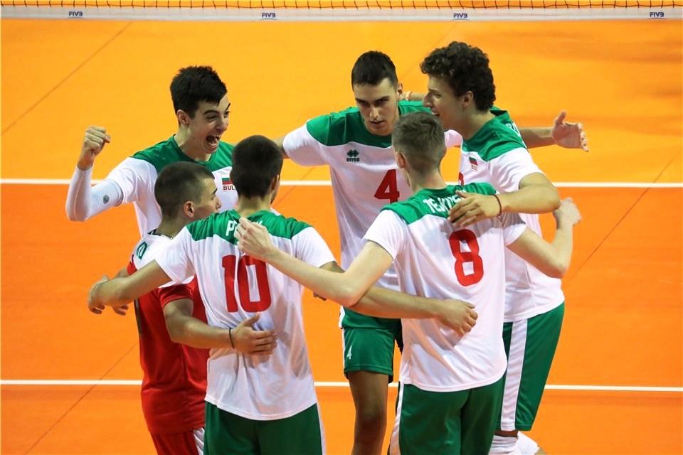 Националният волейболен отбор на България за юноши до 19 години
