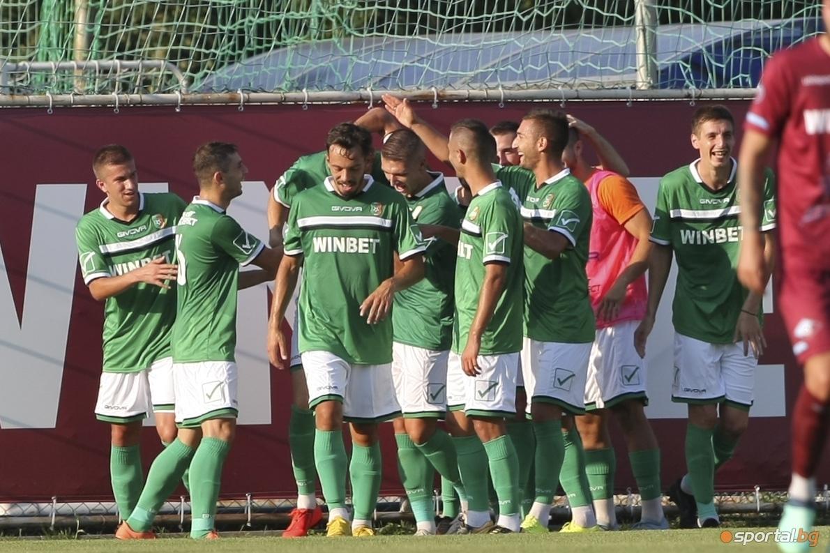 Тимът на Литекс спечели с категоричното 4:0 домакинството си на