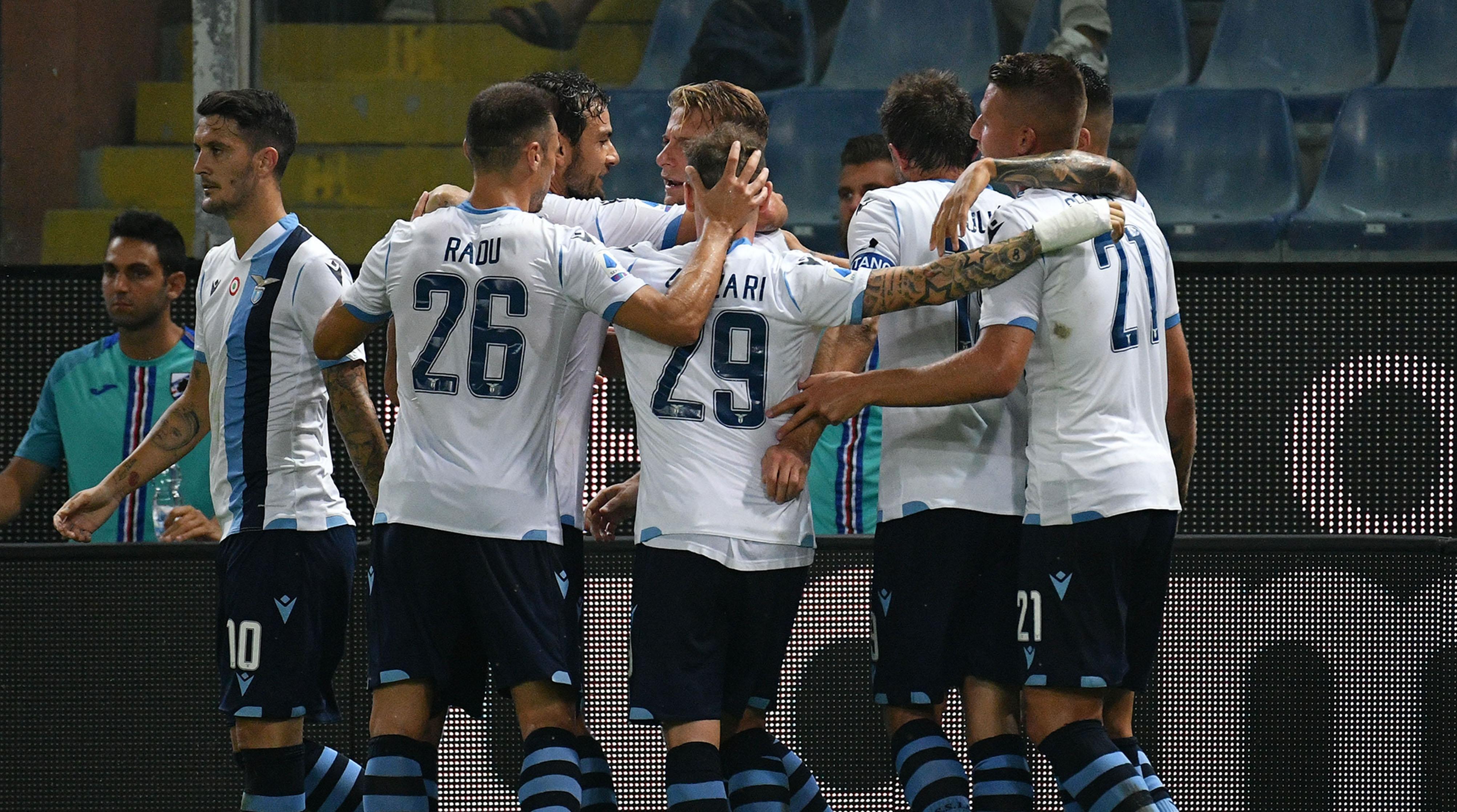 Носителят на Купата на Италия Лацио записа отличен старт на