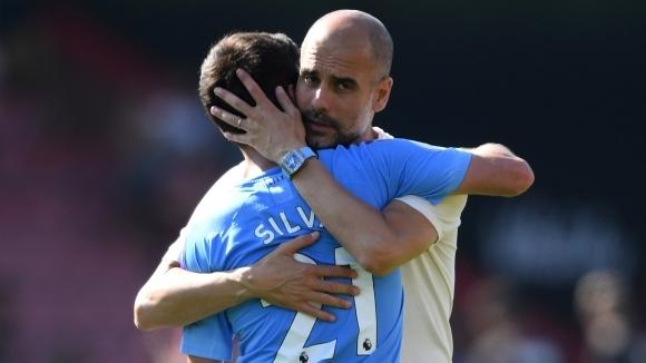 Мениджърът на Манчестър Сити Джосеп Гуардиола засипа с похвали капитана