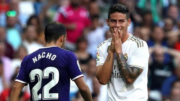 Полузащитникът на Реал Мадрид Хамес Родригес се присъдини към дългия