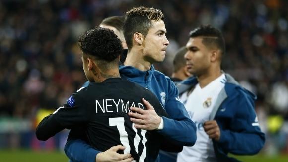 Звездите на световния футбол Кристиано Роналдо и Неймар станаха част