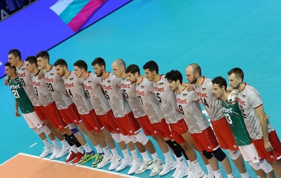 Мъжкият национален отбор по волейбол на България, който е воден
