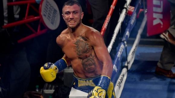 Най-добрият боксьор в момента Василий Ломаченко по безапелационен начин спечели