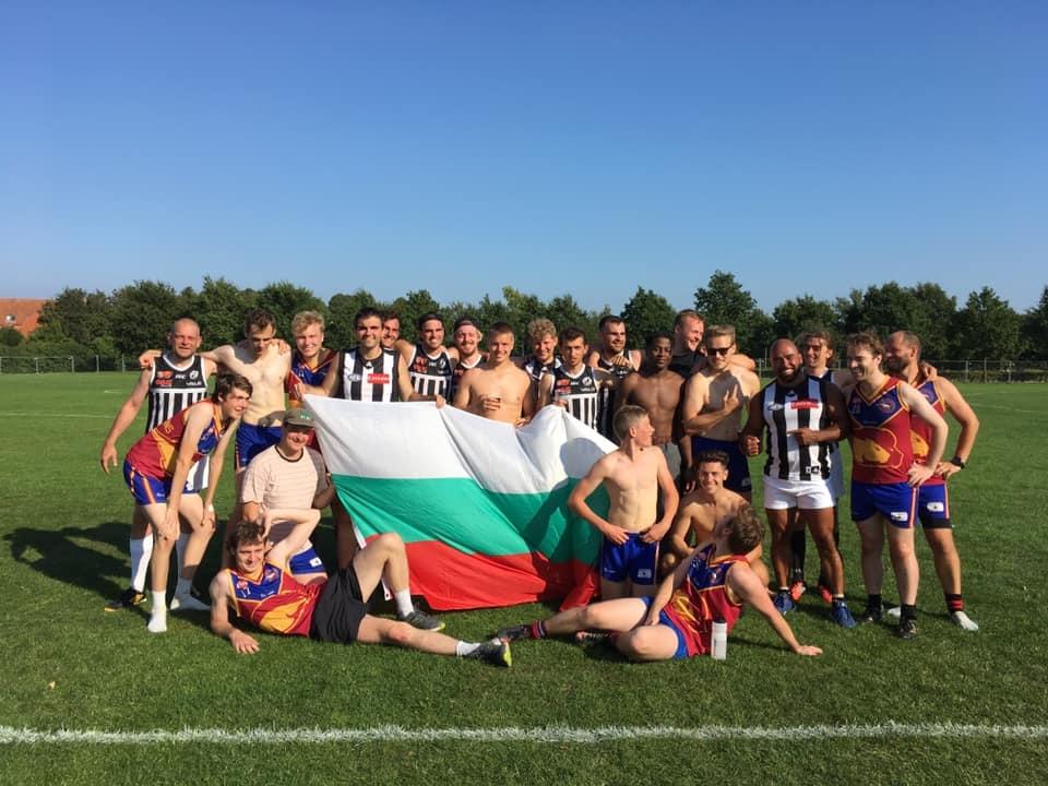 Единственият български отбор по австралийски футбол София Магпайс изигра първия