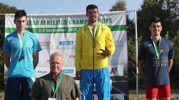 Европейският шампион в скока на дължина Милтядис Тентоглу претърпя загуба