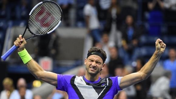 Единственият българин в тенис елита Григор Димитров се изправя срещу