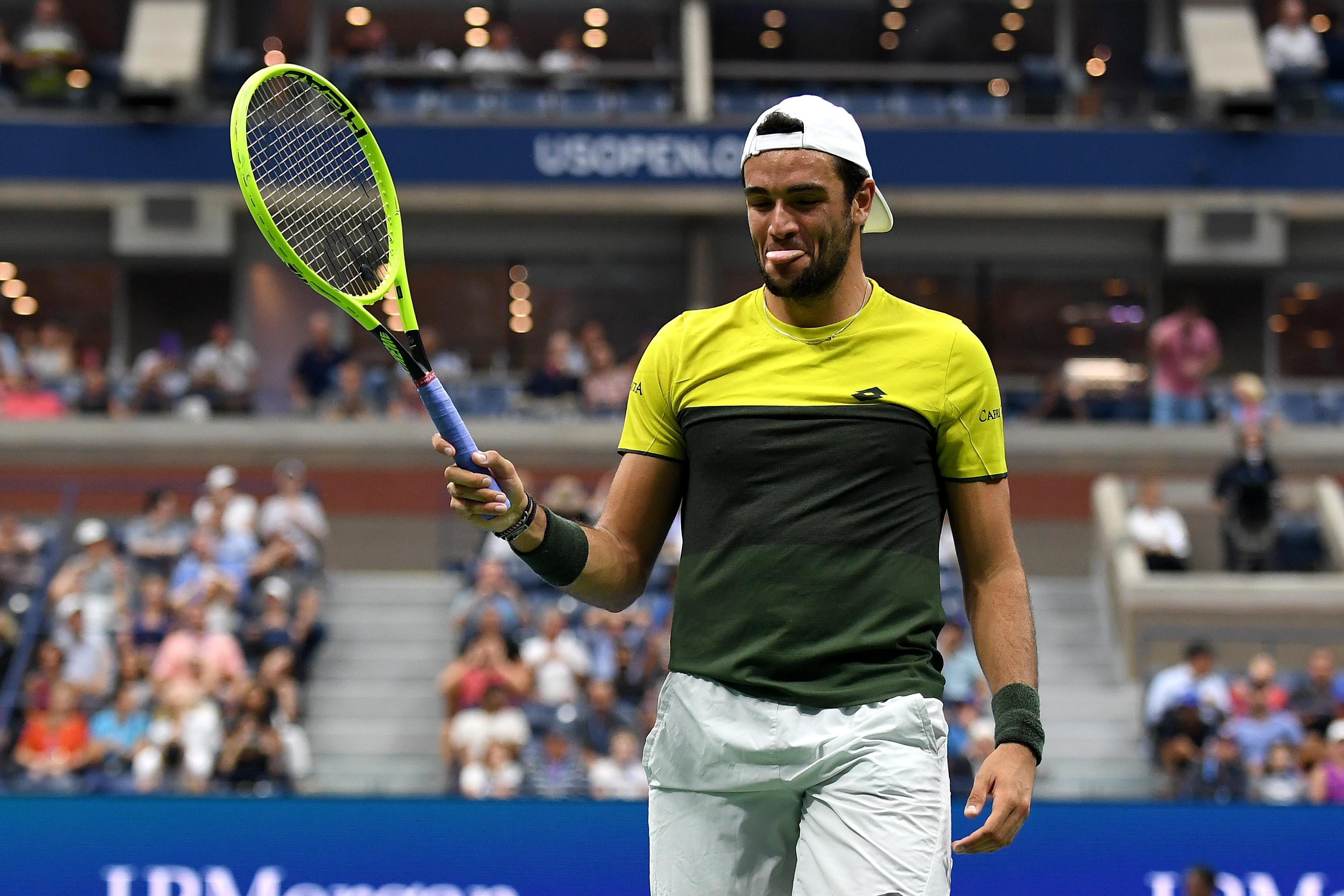 Матео Беретини е изключително щастлив след класирането си за полуфиналите
