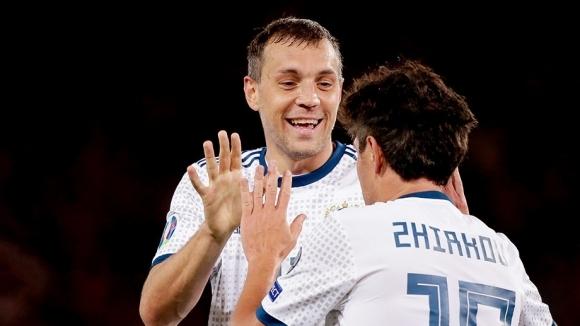 Русия записа четвъртата си победа в европейските квалификации в група