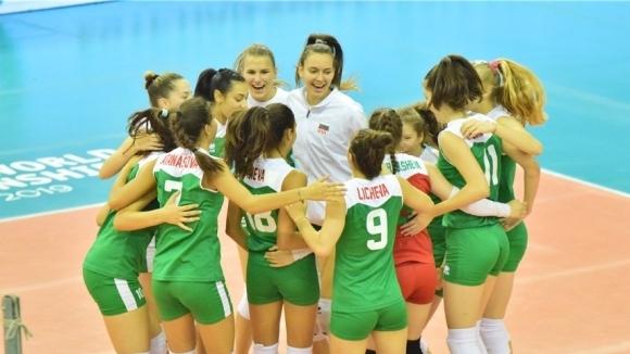Волейболистките на България записаха втора победа на световното първенство за