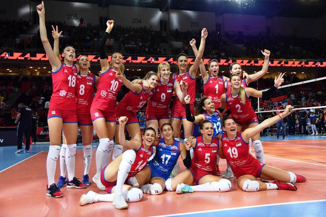 Настоящият европейски и световен шампион за жени Сърбия ще защитава