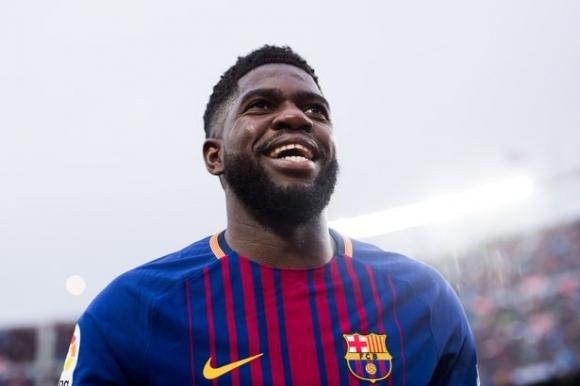 Френският защитник на Барселона Самюел Юмтити е получил травма на
