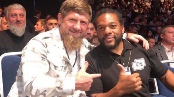 Чеченският лидер Рамзан Кадиров присъства на UFC 242 в Абу