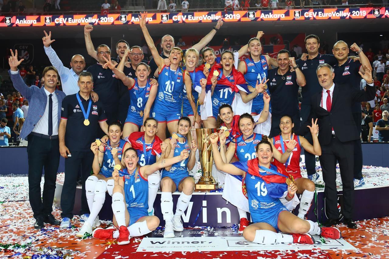 Сърбия е новия-стар европейски шампион при жените. Момичетата на треньора