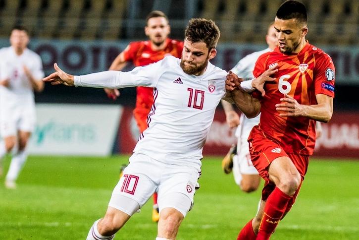 Отборът на Северна Македония записа втора победа в европейските квалификации