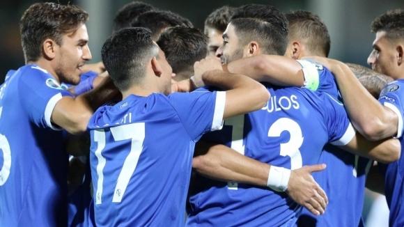 Отборът на Кипър показа голова мощ в гостуването си на
