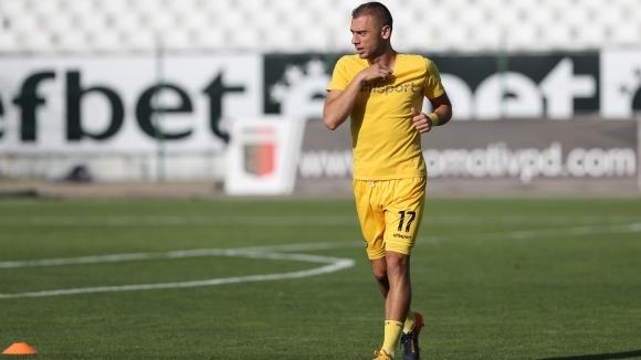 След днешната тренировка част от футболистите на Ботев (Пловдив) са