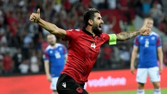 Албания нанесе втора загуба на Исландия в квалификационната Група H
