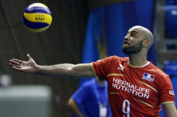 Звездата на националния волейболен отбор на Франция Ървин Нгапет ще