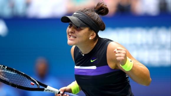 Новата шампионка на Откритото първенство на САЩ по тенис Бианка