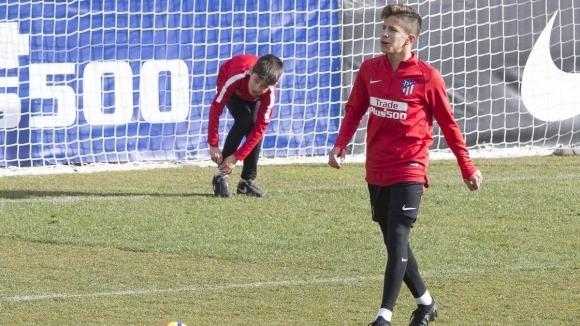 Джулиано Симеоне, най-малкият син на старши треньора на Атлетико Мадрид