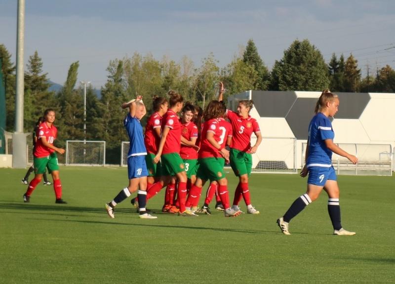 Българският национален отбор за девойки до 19 години победи Беларус